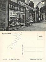 Cartolina di Tortona, pasticceria e pubblicità Motta - Alessandria