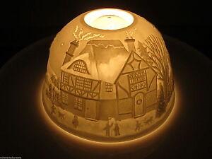Magic Light, Tealight Dome Lights Starlight Lantern Landscape Angel 2189 A