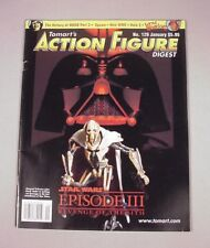 Tomart's Action Figure Digest #129 Star Wars Ep III  Mego Spawn WWE Halo toys