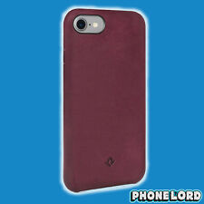 Genuine Twelve South iPhone 8 7 Relaxed Leather hard Case Cover shell Masala Red