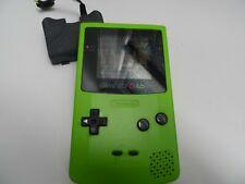Nintendo Game Boy Color Grün Handheld-System-getestet & funktioniert inkl. Spiel & Stromkabel
