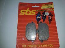 SBS 596 HF  PASTIGLIE FRENO ANTERIORI YAMAHA XT 4 VALVES 600 1987 1988 1990