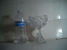 "ARTCUT Vintage GLASS GOBLET  6"" TALL"