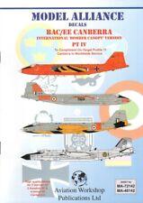 NEW 1:48 Model Alliance Decals 48142 BAC / EE Canberra Part 4 International