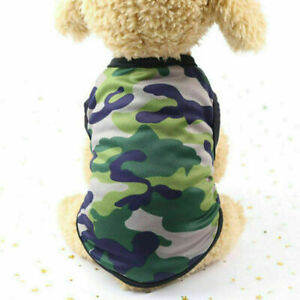 Cute Pet Dog Clothes Summer Puppy T Shirt Clothing For Small Dog Chihuahua Vest