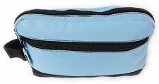 New Mens Travel Toiletries Shaving Wash Bag Case New Blue Bath Shower Zip
