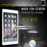 "Premium Tempered Glass Screen Protector for iPad 9.7"" 2018 2017 Air Mini 4 Pro"