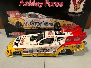 Autographed 2009 Action Ashley Force Ronald McDonald House NHRA Funny Car 1/24