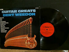 BERT WEEDON  Guitar Greats  LP