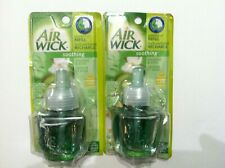 2 NEW AIRWICK SCENTED OIL REFILLS JASMINE & KIWI (SOOTHING) NO PACKAGE BRAND NEW