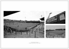 El suelo Goldstone Brighton & Hove Albion histórico estadio fotos (BRMU 1)