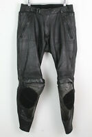 DAINESE Black Motorcycle Trousers Size 52