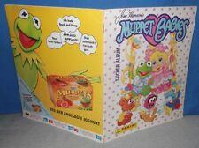 DES MUPPETS BABIES bébés PANINI ALBUM plein images sticker album de scrapbooking 1988 Henson