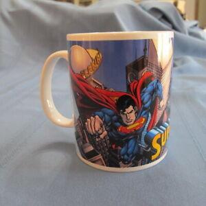 It's A Bird! It's A Plane Large Coffee Cup Mug DC Comics Superman