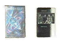 Crimson Glory/ Love And Destruction Cassette Lot