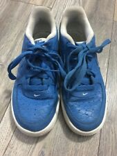 Nike Air Force 1 Croc Skin Trainers Size UK 3 / EUR 35.5