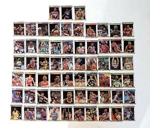 1987 Fleer Basketball common cards Lot of 63 cards
