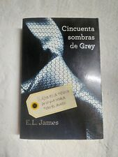 Libro Cincuenta sombras de grey de E.L James