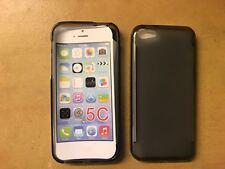 TPU Gel case appe iphone 5c Grey