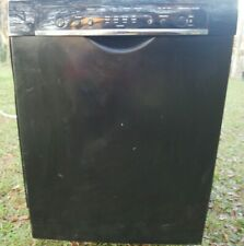 """Bosch Ascenta 24"""" Built-In Dishwasher- Recessed Handle- Black Parts Only"""