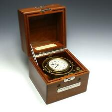 WWII 1942 Hamilton Watch Model 22 US Navy Marine Chronometer Ship's Clock