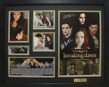 Twilight Breaking Dawn part 2 Limited Edition Memorabilia Framed