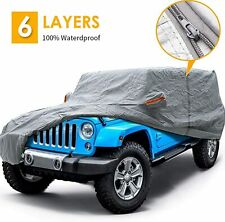 4 Door Jeep Cover For Jeep Wrangler Cjyjtj Amp Jk Waterproof All Weather Protect Fits Jeep