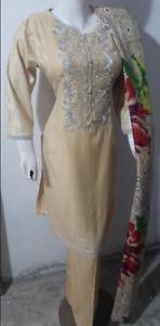 Maria b warm  Marina  embroidered Salwar Kameez  stitched 3pc suit Wool shawl