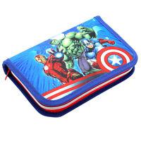 Marvel Avengers Assemble Exclusive Pencil Case 22 x 4 x 14 см NWT