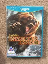 NEW, SEALED - Nintendo Wii U - Cabela's Dangerous Hunts 2013 - UK English PAL