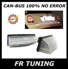 LEXUS IS RX LS ES GS KIT LUCI TARGA A LED CAN BUS 100% NO ERROR BIANCO 6000K