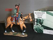 KING AND COUNTRY WSS145 GERMAN FORCES COSSACK LOOKING RIGHT MOUNTED TOY SOLDIER