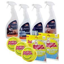 JML & VAX Cleaning Combo Set - Doktor Power Cleaners, 3D Cloths & VAX Sprays