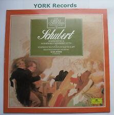 410 482-1 - SCHUBERT - Symphonies Nos 8 & 5 BOHM Berlin PO - Ex Con LP Record