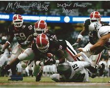 """Marcus Howard Autographed/Signed Georgia Bulldogs Ncaa 8x10 Photo """"Sugar Bowl"""""""