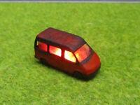 Spur N TT Ford Transit Bus Vollbrand Brennend 12V LED Feuer Laser Cut 1:160 #26