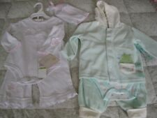 New 2 Girls Baby Outfit Sets Take Me Home & bon be be 3/6
