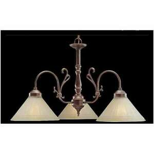 Classic Lighting Biltmore Traditional Chandelier, English Bronze - 3053EB