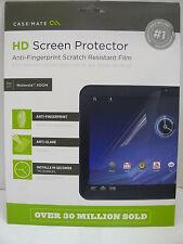 CASE MATE HD Screen Protection Kit  Motorola XOOM  Anti-Glare/Anti-Fingerprint