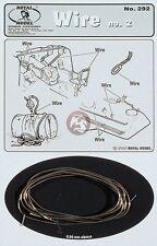 Royal Model 1/35 Wire No.2 (0.9mm Alpaca Metal Alloy) [Diorama Accessory] 292