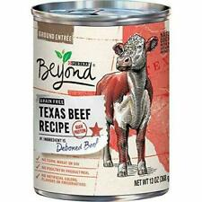 (12) Purina Beyond Grain Free Wet Dog Food, Texas Beef Recipe - 13 oz. Cans