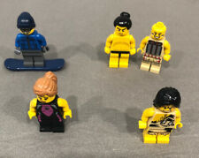 Lot of 5 LEGO Set Minifigure Series #1, #3, #4 & #5 Skier Tribal Hunter & MORE!