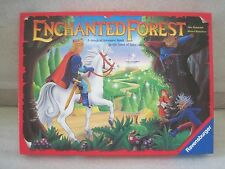 HTF RARE Enchanted Forest Treasure Hunt Board Game by Ravensburger 1994