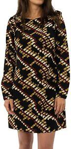 Molly Bracken - Robe Graphique à Manches longues à -20%
