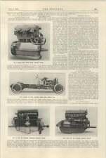 1925 3 L chasis y motor de seis cilindros Bentley Crossley Chasis