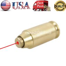 45 ACP Cartridge Red Dot Laser Sight Bullet Shaped Bore Sight Boresight Brass
