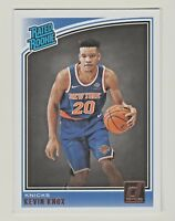 2018-19 Panini Donruss #190 KEVIN KNOX RC Rookie New York Knicks
