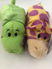 "Little 5"" FLIPZEES FlipaZoo  2017  Apple Pie Alligator & PB & Jelly Giraffe  NEW"