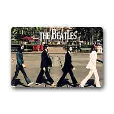 Custom The Beatles Cover Rug Outdoor Indoor Floor Mat Non-Slip Door Mat