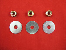FORD FALCON HEATER BOX NUT KIT SUIT XW XY ZC ZD GT GS 3 WASHERS 3 NUTS 351 302